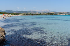 Oroseigolf in Sardinige, Italië Royalty-vrije Stock Afbeeldingen