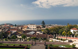 Orotava and the sea Stock Photo