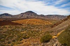 Orotava valley. Parque National De Las Canadas.Islands of Tenerife Stock Images