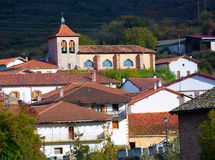 Oroz Betelu in Navarra Pyrenees of Spain Royalty Free Stock Photography