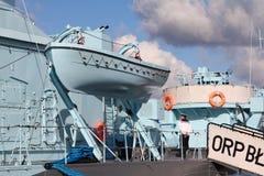 ORP Blyskawica, Gdynia fotografia stock
