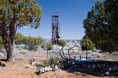 Orphan Mine. The Orphan Mine, located on the south rim of the Grand Canyon stock image