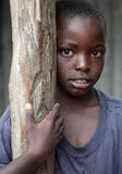 Orphan in an orphan boarding school on Mfangano Island, Kenya. Stock Images