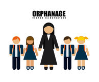 Orphanage concept Royalty Free Stock Photo