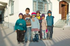 Orphanage in Kathmandu,Nepal,Asia Royalty Free Stock Photos