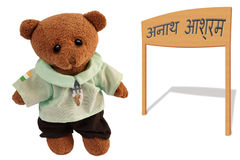 Orphelin dans l'Inde images stock
