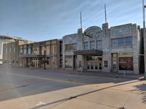 Orpheum Theater. In downtown Sioux Falls, South Dakota stock photography