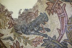 Orpheus mozaiki czerep z kózką Obraz Royalty Free