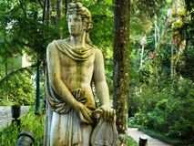 Orpheus rzeźba obraz stock