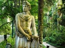 Orpheus skulptur fotografering för bildbyråer