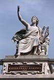 orpheus staty royaltyfri fotografi