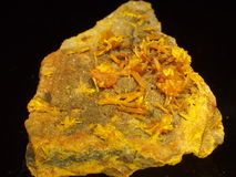 Orpiment Stockfoto