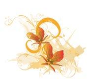Orquídeas ilustração royalty free