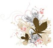 Orquídeas ilustração do vetor