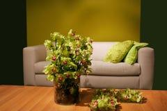 Orquídeas en interior Foto de archivo libre de regalías