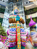 Orquídeas gigantes no paraíso da orquídea de Banguecoque do modelo de Sião Imagem de Stock