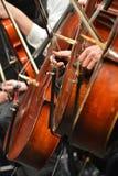 orquesta Imágenes de archivo libres de regalías
