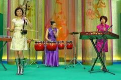 Orquesta china Imágenes de archivo libres de regalías