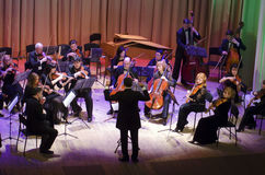 Orquesta de cámara de cuatro estaciones Imagen de archivo libre de regalías