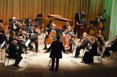 Orquesta de cámara de cuatro estaciones Imágenes de archivo libres de regalías