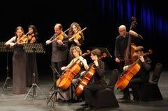 orquesta De Camara Reina索非亚在巴林执行 免版税库存照片