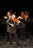 Orquesta De Camara Reina Sófia executa em Barém foto de stock royalty free