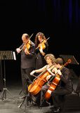 Orquesta De Camara Reina Sofia wykonuje przy Bahrajn Obrazy Stock