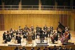Orquesta de compartimiento Imagen de archivo libre de regalías