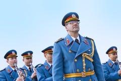 Orquesta del ejército Foto de archivo