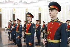 Orquesta militar Fotografía de archivo libre de regalías