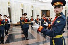Orquesta militar Fotos de archivo libres de regalías