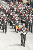 Orquesta militar Foto de archivo