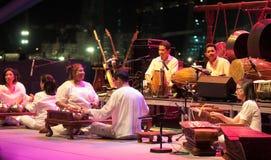 Orquesta moderna de Gamelan de la fusión Fotos de archivo