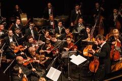 Orquesta sinfónica Foto de archivo libre de regalías