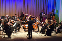 Orquestra de câmara de quatro estações Fotos de Stock Royalty Free
