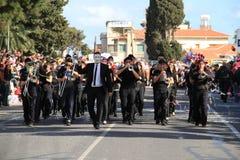 Orquestra do carnaval. Imagens de Stock