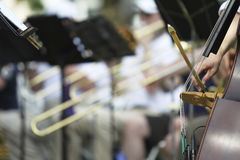 Orquestra sinfônica Imagem de Stock Royalty Free
