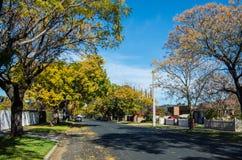 Orr gata i centrala Shepparton, Australien royaltyfri bild