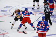 Orr vs. Thornton Stock Photography