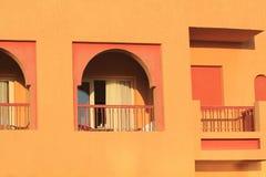 Orrange tropisk semesterort, att charma el-shejk Fotografering för Bildbyråer