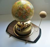 Orrery Clock Stock Photography