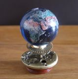 Orrery steampunk art small sculpture for dolls house. Stock Image