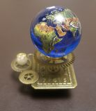 Orrery steampunk art small sculpture for dolls house. I made this orrery steampunk art small sculpture for a dolls house.I sold this on ebay UK Stock Images