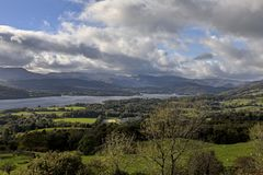 Orrest Head and Windermere Stock Photo