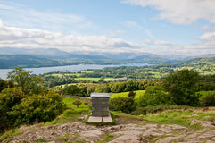 Orrest Head, Windermere. Stunning view from Orrest Head, Windermere Royalty Free Stock Photography
