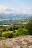 Orrest Head, Windermere. Stunning view from Orrest Head, Windermere Royalty Free Stock Photos