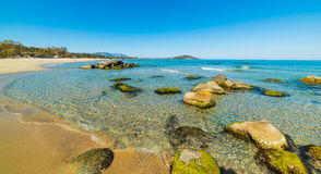 Orri beach in Sardinia Royalty Free Stock Photo