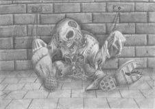 Orrore dei morti Immagini Stock