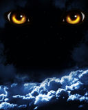 Orrore nella notte Fotografie Stock Libere da Diritti