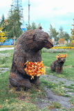 Orsa e cucciolo di orso Fotografie Stock Libere da Diritti